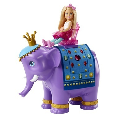 Barbie Barbie Dreamtopia Chelsea Ve Fil Kral Renkli